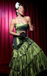 Nina Kristofferson as Billie Holiday Photo by Eric Richmond